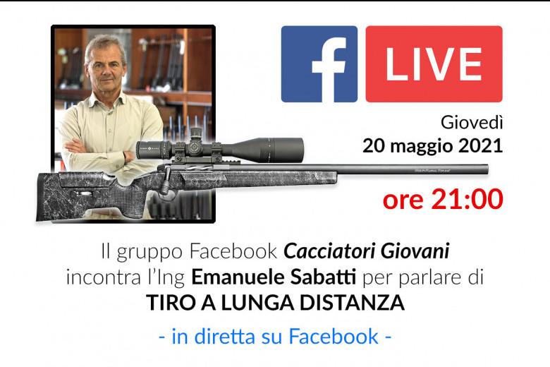 Diretta Facebook LIVE: SABATTI e il tiro a lunga distanza