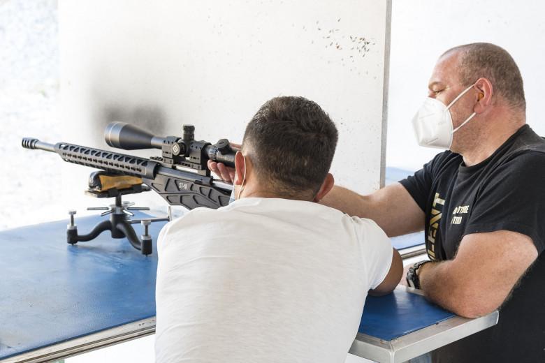 Armi Sabatti in prova al campo di tiro Legio Silent di Ferentino.